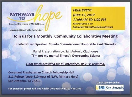 PATHWAYS TO HOPE - MONTHLY COMMUNITY COLLABORATIVE MEETING