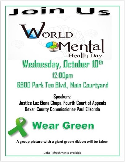 Join Us World Mental Health Day Event