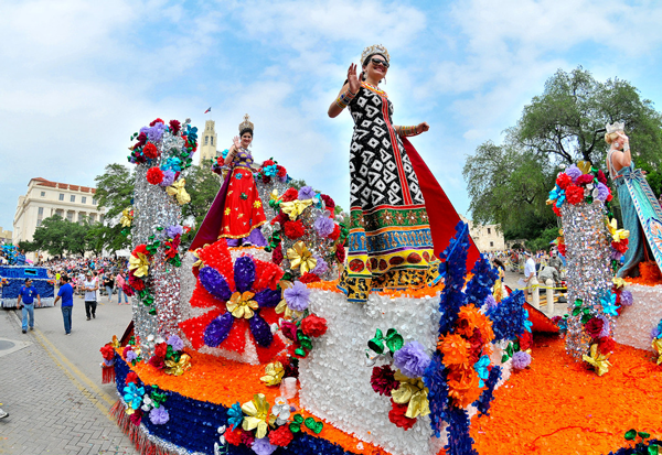 Battle of Flowers Parade