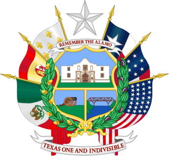 Seal of Texas - Remember the Alamo