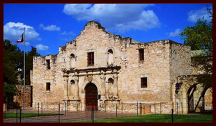 The Alamo, Bexar County Texas