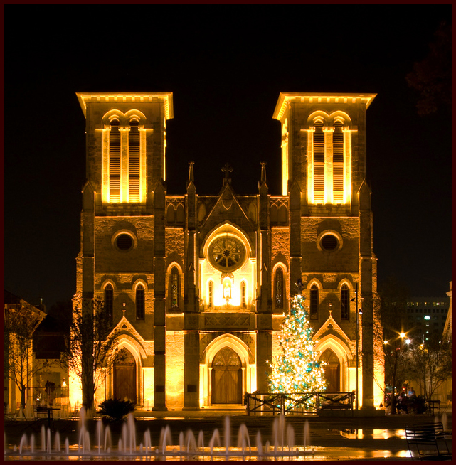 San Antonio's Historic San Fernando Cathedral, Courtesy Corey Leopold