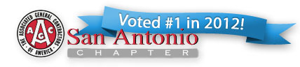 Voted #1 in 2012 by the AGC San Antonio Chapter