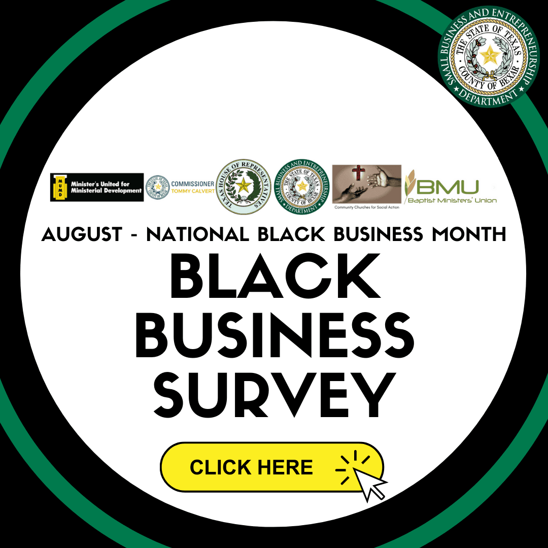 Black Business Exposure Survey National Black Business Month 2020 Opens in new window